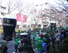 16日は表参道St.Patrick's Dayパレードへ=3