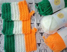 アイルランド国旗のエコたわし