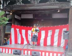 28日も材木町よ市で演奏してきました♪